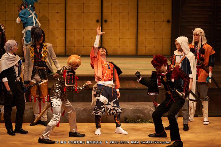 「舞台『刀剣乱舞』慈伝 日日の葉よ散るらむ」ゲネプロレポート イメージ画像
