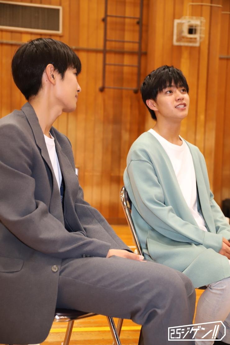 醍醐虎汰朗・赤名竜之輔、演劇「ハイキュー!!」インタビュー 役者としてのターニングポイントとは イメージ画像
