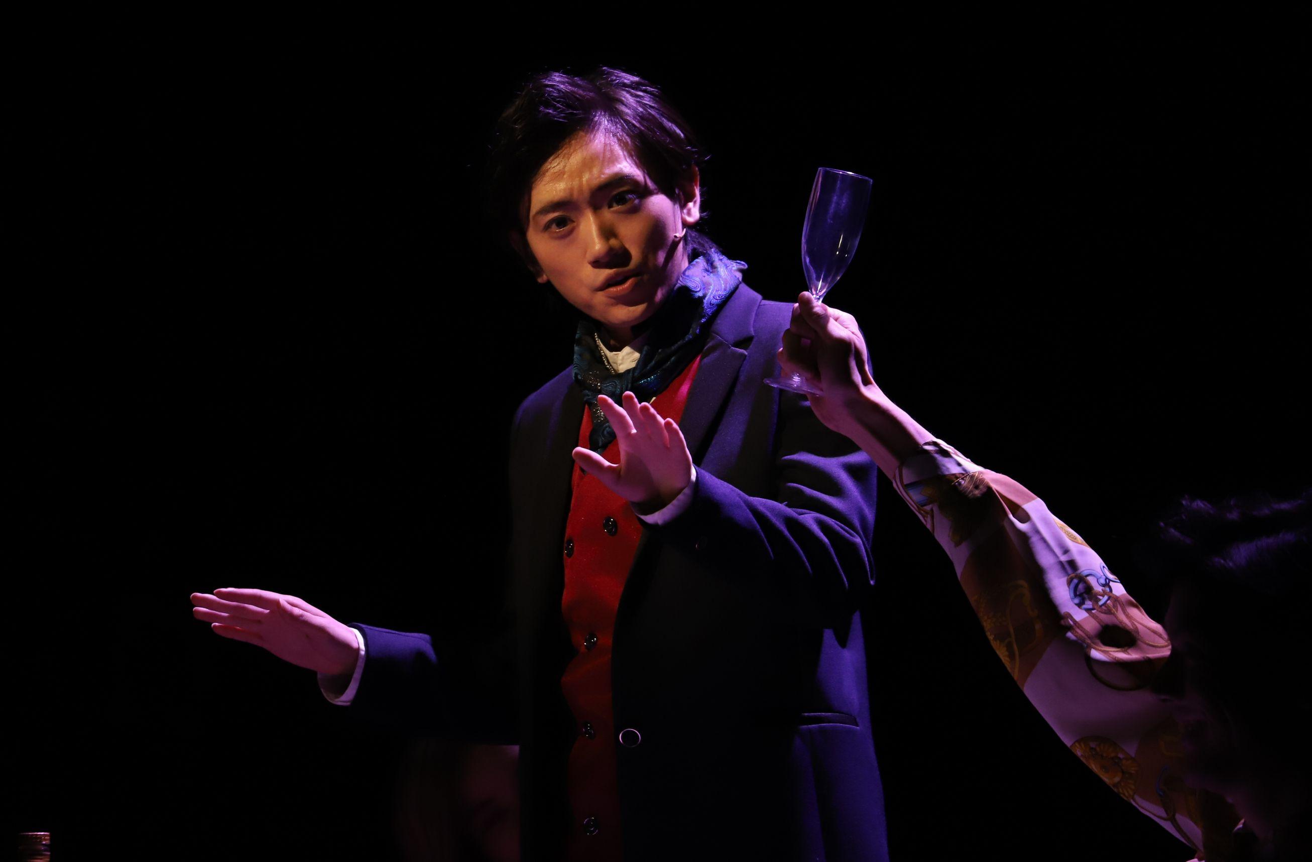 中村誠治郎、有澤樟太郎、定本楓馬ら出演「今、僕は六本木の交差点に立つ」ゲネプロレポート&キャストコメント イメージ画像
