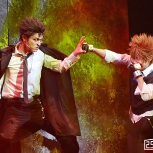 """ツナ vs XANXUS""""死ぬ気""""のリング争奪戦ついに完結 『リボステ』vsヴァリアー編part2 ゲネレポ イメージ画像"""