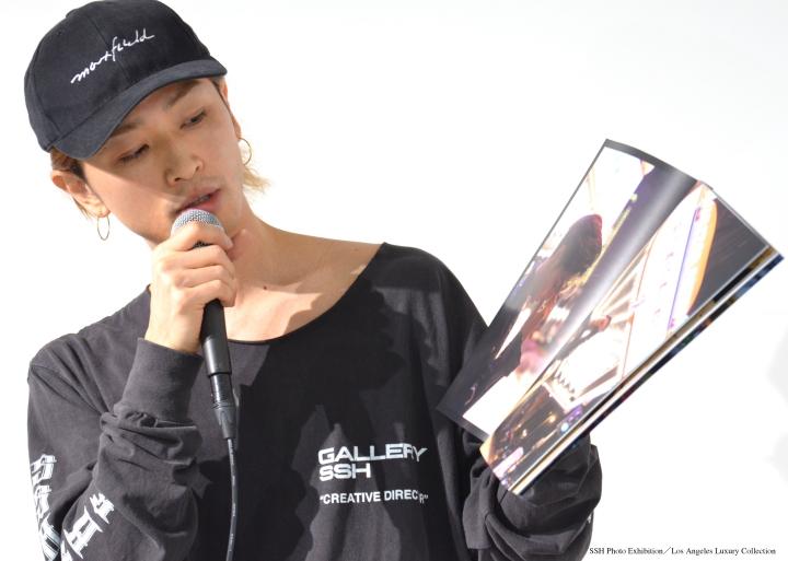 井澤勇貴、ハリウッドの地に「いつか映画の仕事で戻りたい」 『SSH写真展』トークイベントレポ イメージ画像