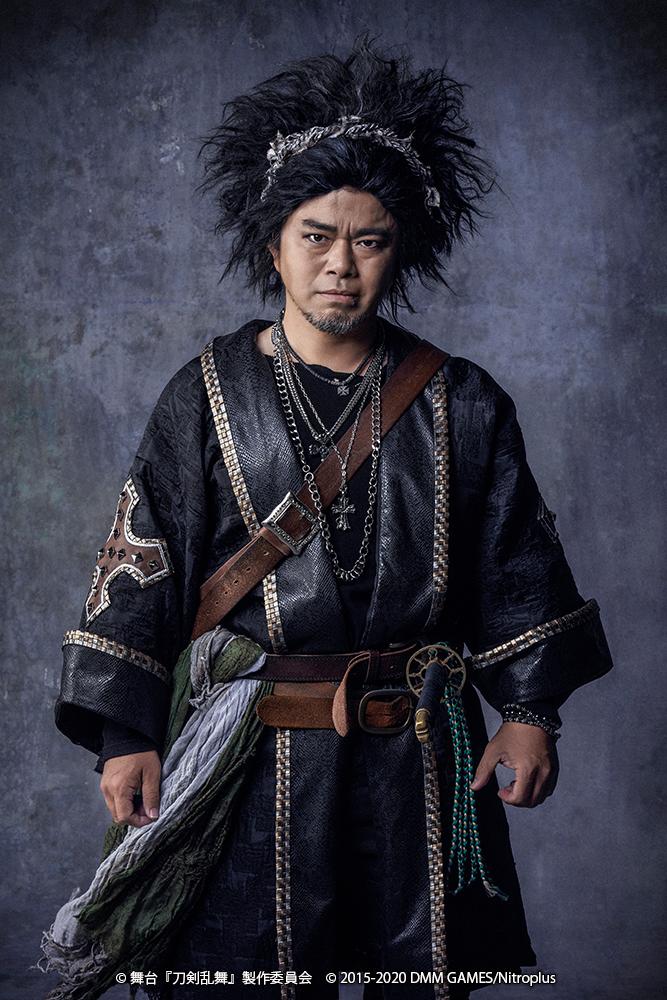 刀ステ最新作、歴史上人物キャストのビジュアル解禁 講談師・神田山緑の出演決定 イメージ画像