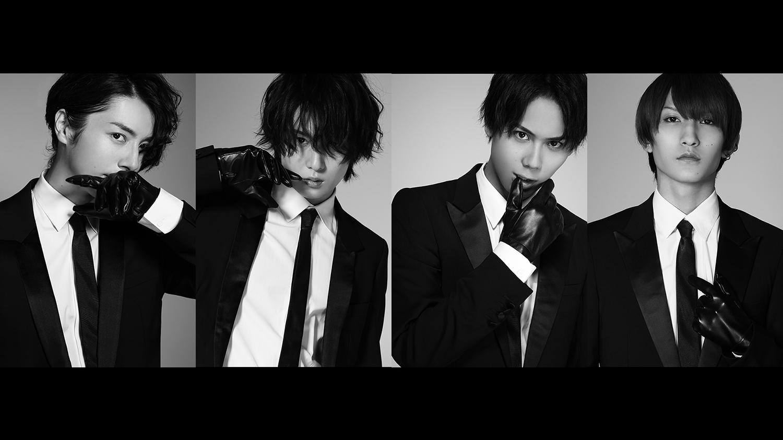 和田琢磨、田村心、中村太郎、梅津瑞樹が黒スーツで登場 「Stage Actor Alternative」第2弾 イメージ画像