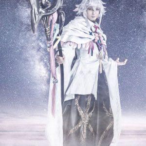 舞台「FGO」最新公演「冠位時間神殿ソロモン」、キービジュアル&主要キャラのビジュアル解禁 イメージ画像