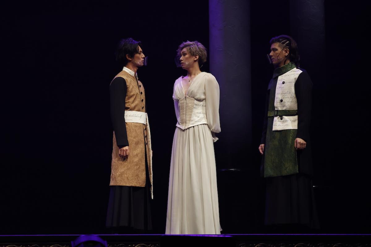 岡宮来夢「自信を持って皆様にお届けします」 5 Guys Shakespeare Act1:[HAMLET]が開幕 イメージ画像