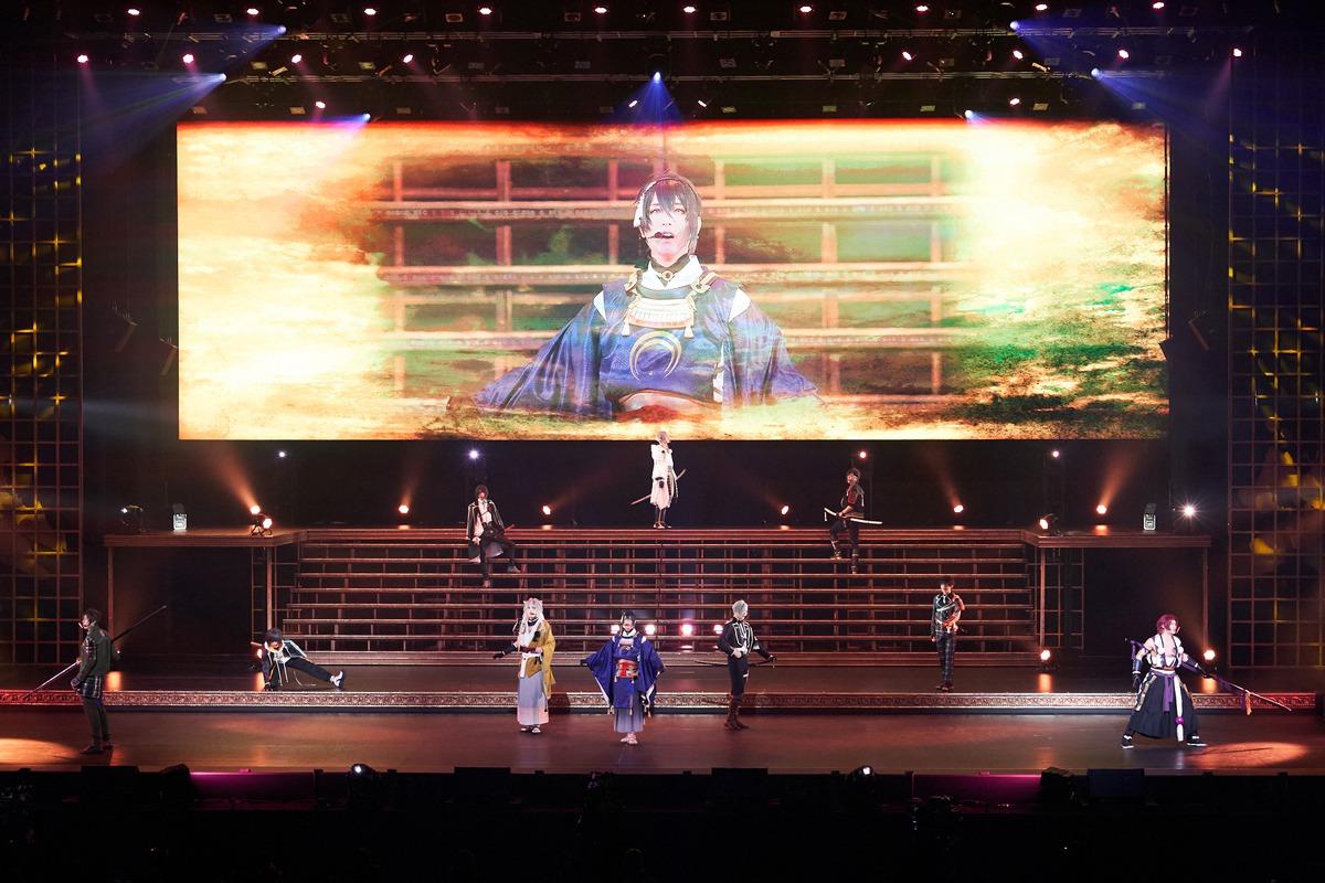 刀ミュ五周年を記念した「壽 乱舞音曲祭」が開幕、舞台写真を紹介 イメージ画像