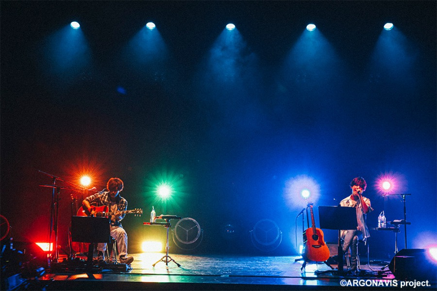 「アルゴナビス Acoustic Tour」ツアーファイナルが無観客配信、公演写真&セットリスト公開 イメージ画像