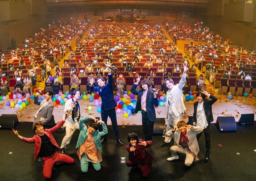 植田圭輔・井澤勇貴ら総勢10名が豪華共演、『2.5次元男子。LIVE2021』ライブレポート イメージ画像