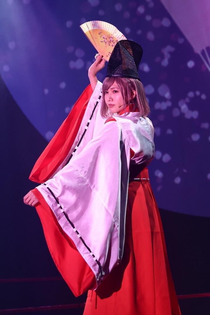 江田剛「お客さまの度肝を抜きたい」 舞台「あやかし緋扇」舞台写真&コメントが到着 イメージ画像