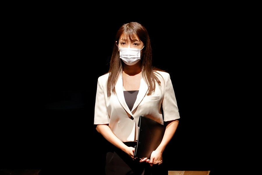 堀田竜成「次の一歩に繋がる作品に…」 劇場を訪れた男女9人それぞれのドラマ、舞台「観劇者」開幕 イメージ画像