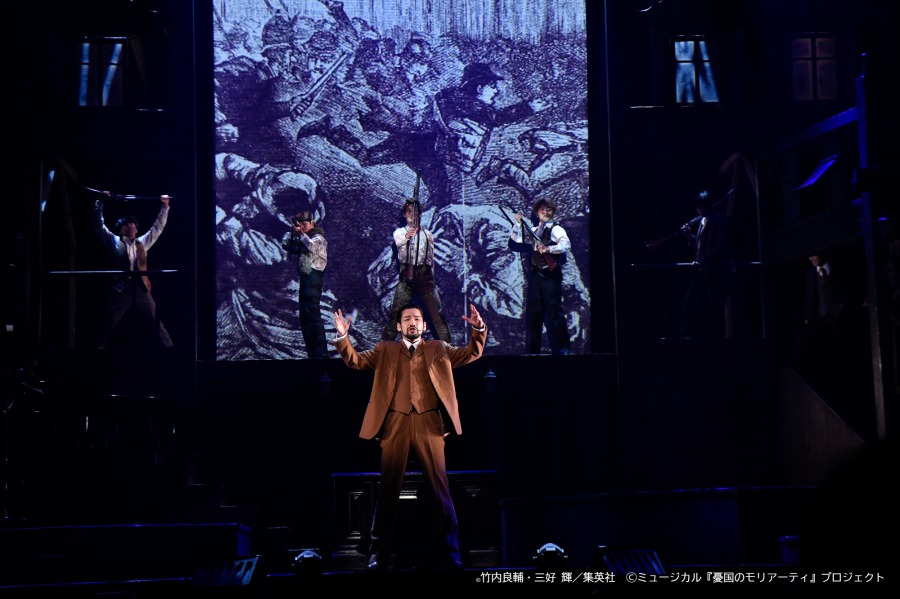 """鈴木勝吾「""""真実""""を観てください」、『モリミュ』Op.3舞台写真&キャストコメントが到着 イメージ画像"""