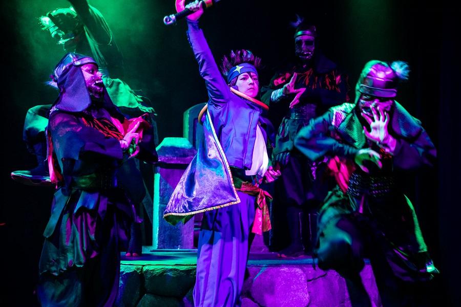 イリュージョン×映像の新体感型演劇『真Ninja Illusion LIVE The REAL』ゲネプロレポート イメージ画像