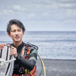 7ORDER・萩谷慧悟のダイビングフォトブック『HORIZON』重版決定 イメージ画像