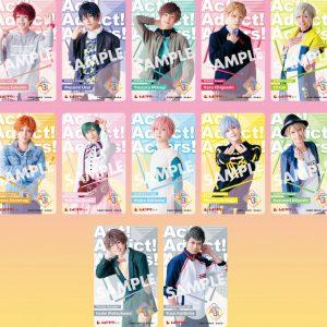 MANKAI MOVIE「A3!」春組・夏組・裏方組12人のソロビジュアルが一挙公開 イメージ画像