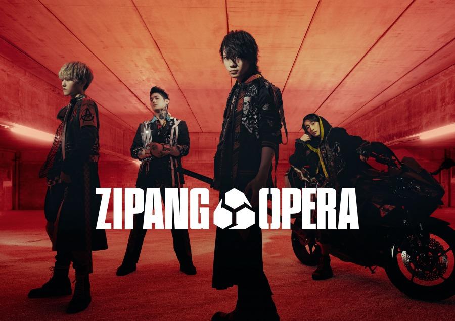 ZIPANG OPERA、デビューアルバム『ZERO』のジャケット解禁 イメージ画像