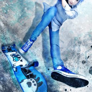 「SK∞ エスケーエイト The Stage」暦&ランガのキャラクタービジュアル解禁 イメージ画像